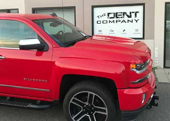Paintless Dent Repair PDR for auto hail damage in Denver