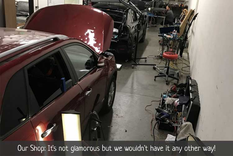 Denver Paintless Dent Repair (PDR) facility